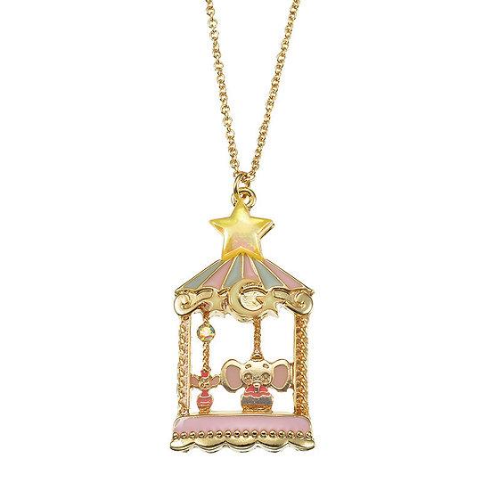 Necklace Series - Disney Classics Circus Series Dumbo Carousel Charm