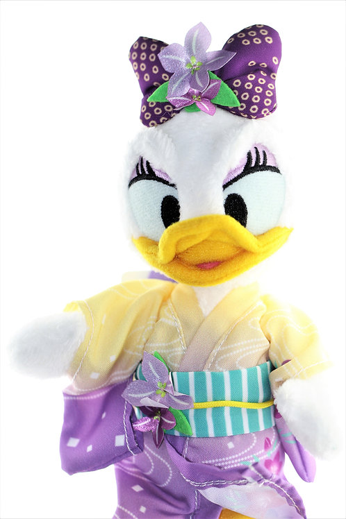 Plushie Keychain Series: Disneyland Summer Daisy Yukata