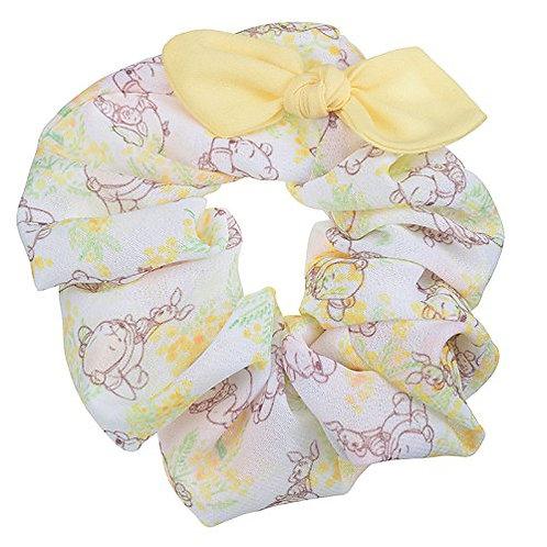 Scrunchie Hair Decoration : Spring Forest Winnie the Pooh & Piglet Scrunchie