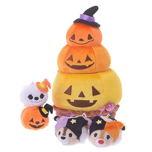 DISNEY TSUM TSUM DECORATION - Halloween 2018 Chip & Dale Pumpkin Set