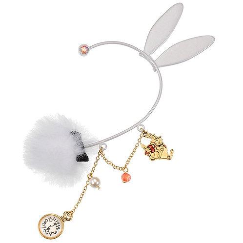 Ear Hook Earring Collection : White Rabbit Wonderland's Alice Hook Earring