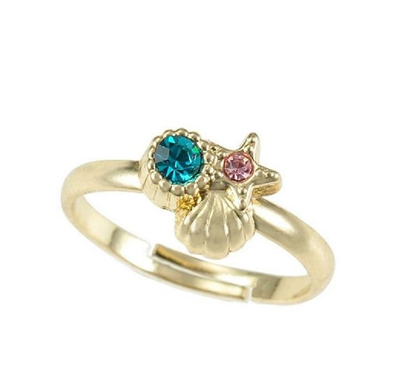 Wishes Ring Series : Little Mermaid - Seashell