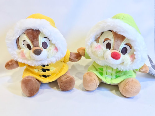 Plushie Collection -  Chip And Dale Snow Winter Plushie