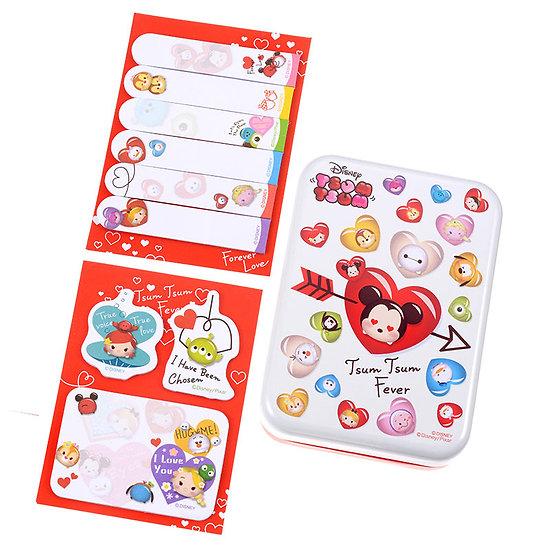 Memo Collection - Tsum Tsum Valentine Fever Series Memo tin set