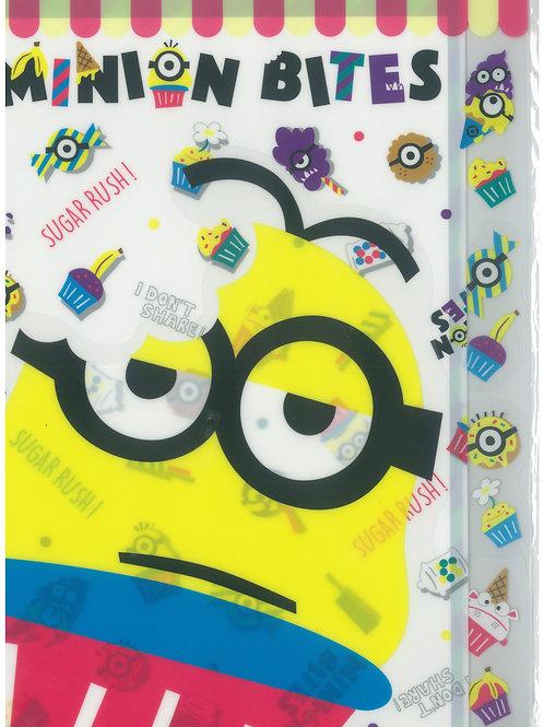 File Series: Despicable Me Minion The Universal Studios Exclusive 3 Pocket file