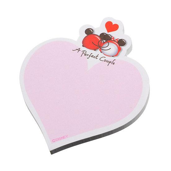 Sticky Pad Series : Tsum Tsum Valentine Fever Mickey & Minnie