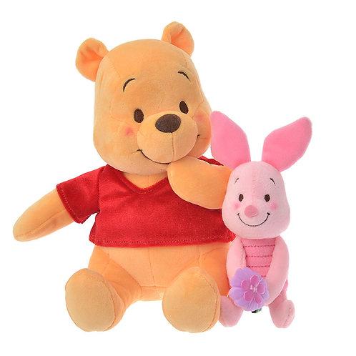 Plushie Series:  Winnie The Pooh & Piglet Valentine 2020 Plushie