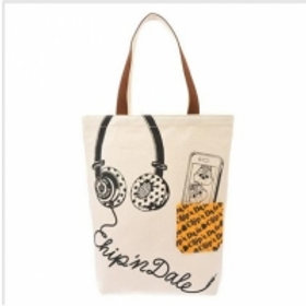 Shopper Bag Collection : Chip & Dale Pop Music Bag