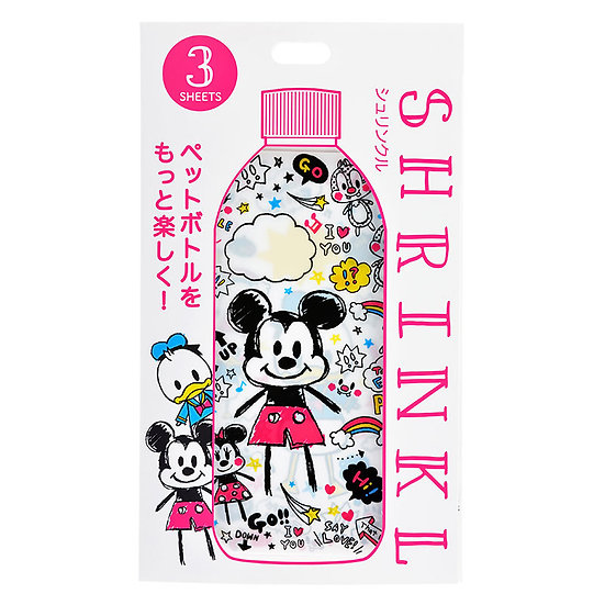 Shrink Bottle Series - Mickey and Friends