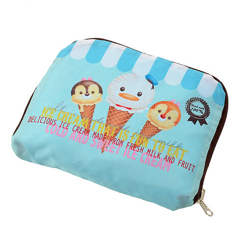 Backpack Collection :  Tsum Tsum ice-cream Donald & Chip Dale Foldable Backpack
