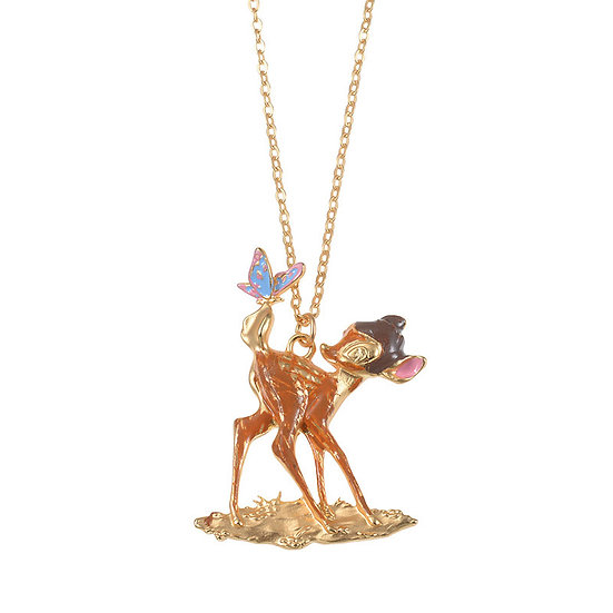 Necklace Series -Spring Jewelry Cinderella horse carriage Flower necklac