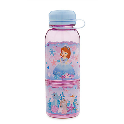 Snack Bottle Water Bottle - Sofia the First