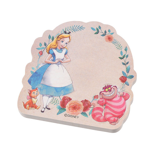 Sticky Pad Series: Alice In Wonderland Flower sticky memo pad