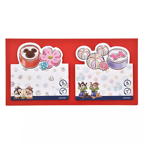 Sticky Pad Series : Chip & Dale Japanese Candy Pop Stand up Memo pad