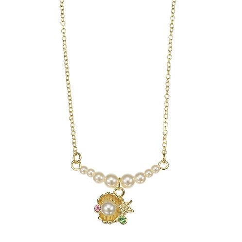 Pearl Fantasy Series - Little Mermaid Seashell pearl necklace