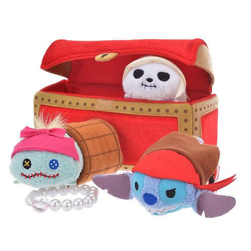 DISNEY TSUM TSUM DECORATION - Pirates Stitch Treasure Box Edition Tsum Tsum