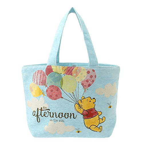 Hobo Bag Collection : Winnie the Pooh Afternoon in the sun M size Tote Bag