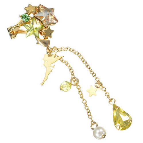 Clip Earring Collection :  2 Way Earring Twinkle Bell star ear dress
