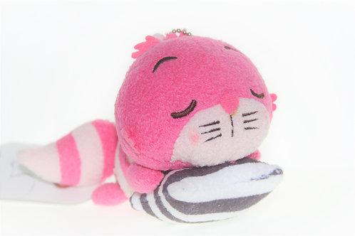 Plushie Keychain Series : Alice in wonderland Sleeping Cheshire Plushie Keychain