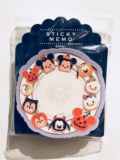 Memo Collection - Tsum Tsum Halloween Friends Post-it Memo Note pad