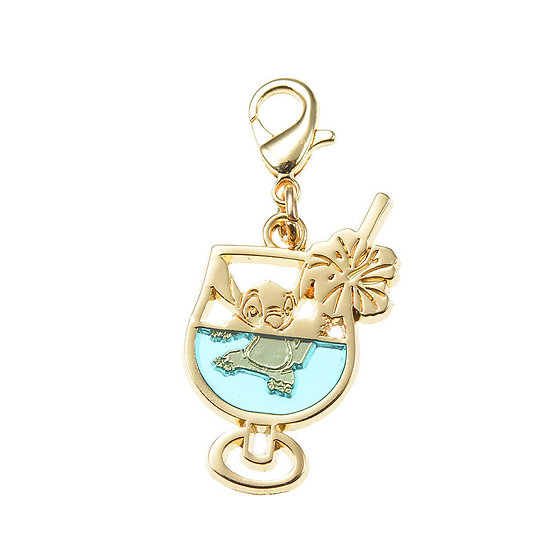 Charm Series -Lilo & Stitch summer Cocktail Charm