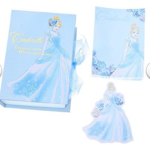 Memo Box Series - Cinderella book box with memo & mini card set