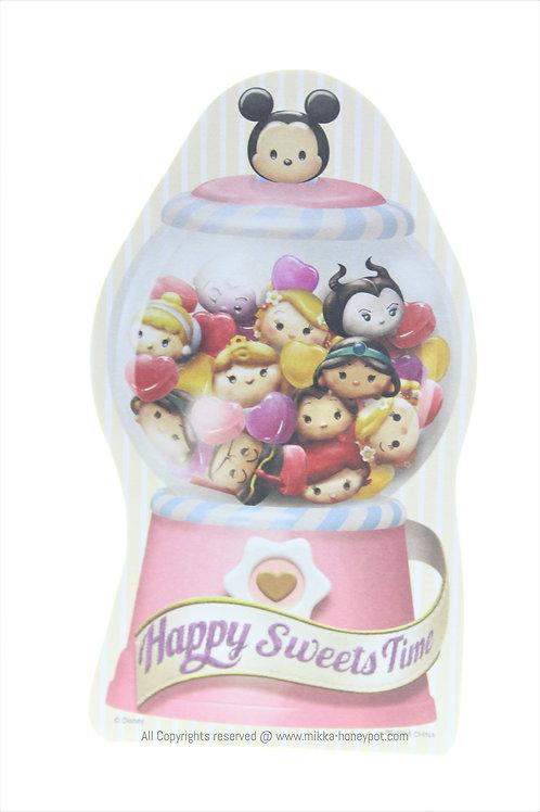 Memo Collection - Tsum Tsum Happy Sweets Time Princess Candy Jar Memo