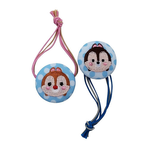Disney Tsum Tsum Button : Chip & Dale Button Strip