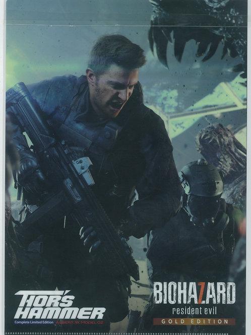 File Collection - Capcom Resident evil / Bio Hazard Not a Hero File ( 01pc)