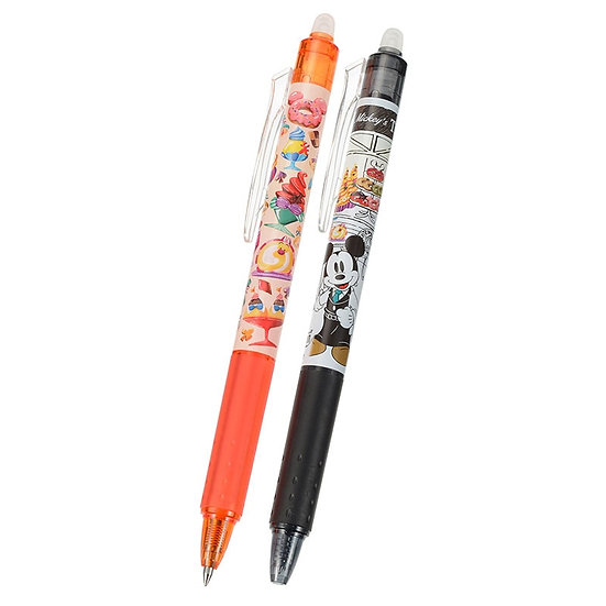 Frixion Series : Happy Cafe Mickey 0.5 Frixion Pen Set