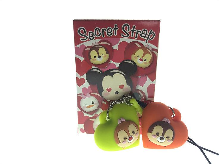 TOY Collection - Secret Strap Valentine Tsum Tsum Chip & Dale Set
