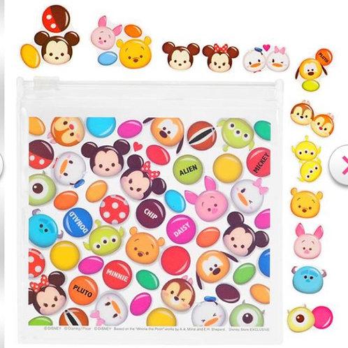 Sticker Collection - Tsum Tsum Chocolate sticker Pouch set