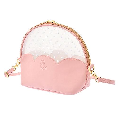 Shoulder Bag Collection :Marie Fashionable Cat See-through Dot Shoulder Bag