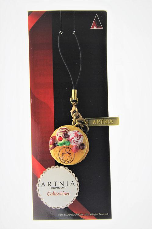 Strip Keychain Collection - Square Enix Cafe Artnia Final Fantasy Moogle Pancake