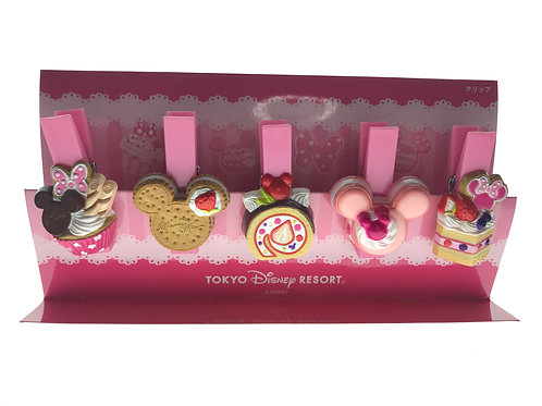 Tools & Stationary - Disneyland Exclusive Candy & Cake Disney Paper Clip Pink