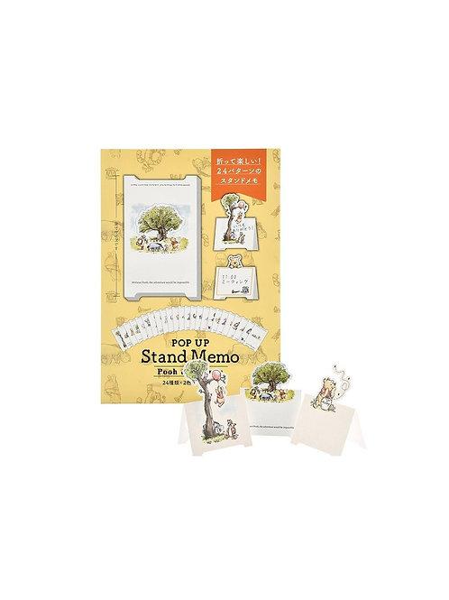 Memo Collection - Pooh & Friends Positive Folding Card Memo