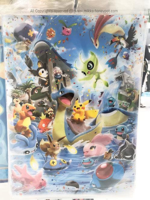 Pokemon [PO]- Singapore Jewel Changi Airport Exclusive Lapras & Friends File