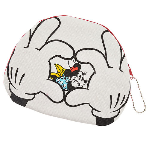 Make-up Pouch Collection : Pouch glove Mickey & Minnie