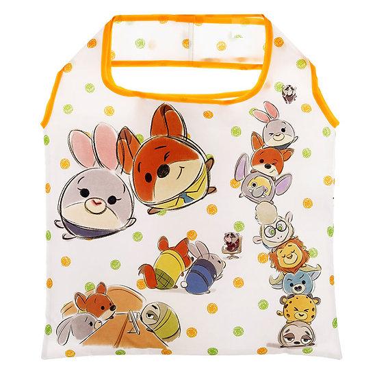 Eco Foldable Tote Bag Collection : Tsum Tsum Sketch Zootopia Tote Bag