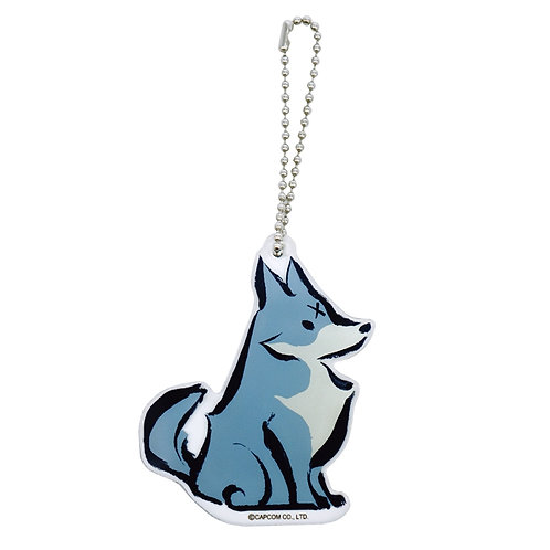 Game Keychain Collection - Monster Hunter Rise Mascot Keychain - Dog