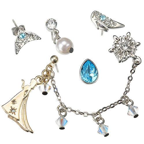 5 pc set Earring - Frozen -Elsa SWAROVSKI earring