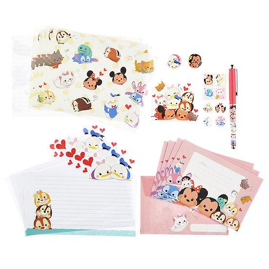 Letter/Greeting card -  Tsum Tsum Friendship letter Set Pocket File