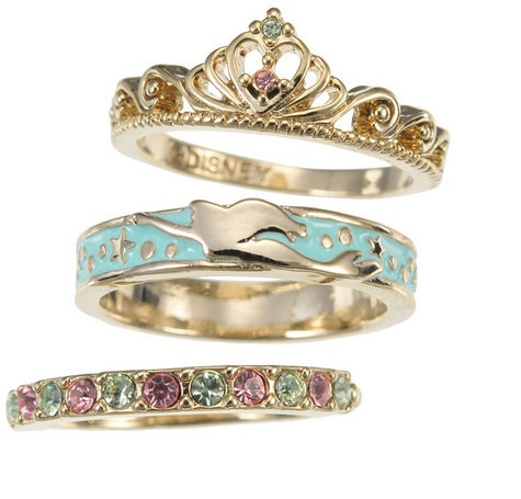 Ring Series - Little Mermaid 3 Style ring