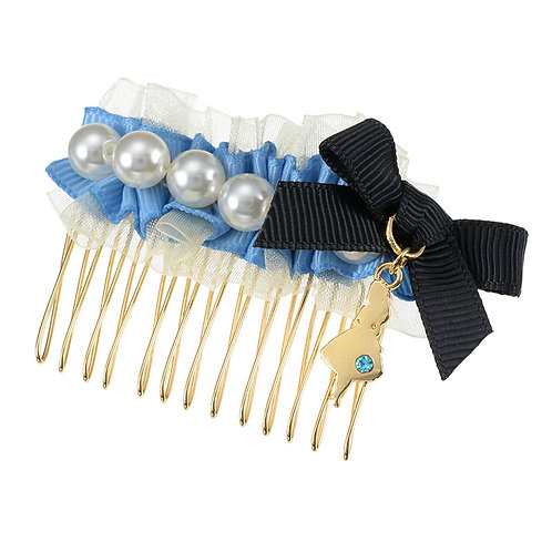Hair Comb Clip Collection - Pearl Fantasy Alice in Wonderland Hair Comb Clip