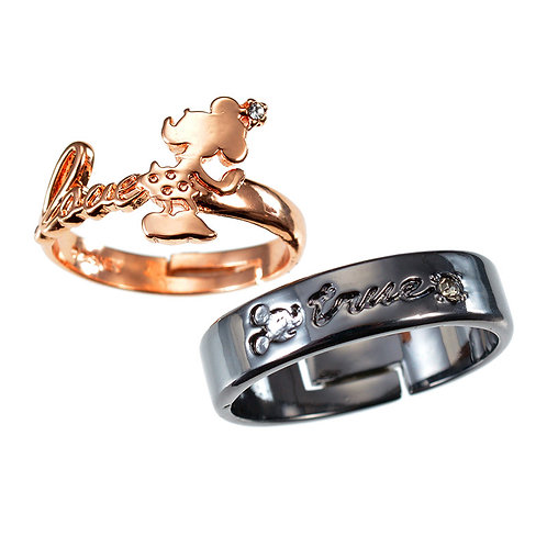 Ring Series- Couple Ring Mickey & Minnie