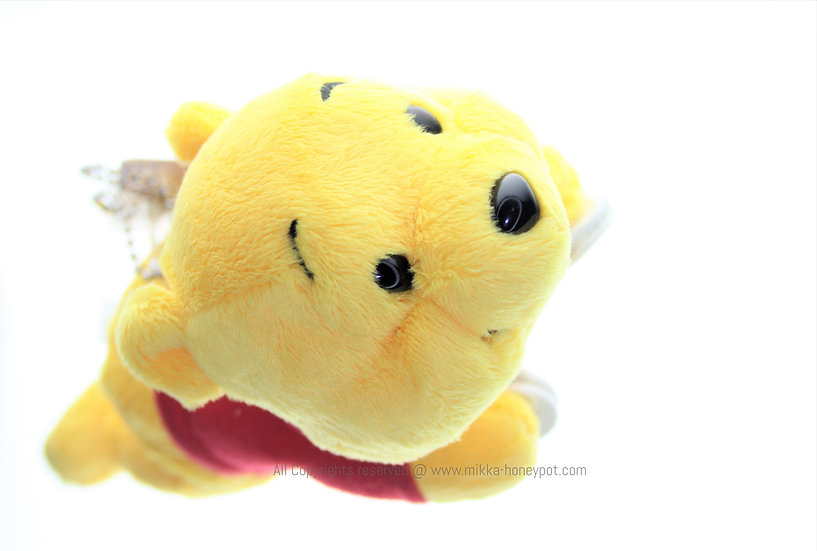 Plushie Keychain Collection - Winnie the Pooh Bag Clip On Plushie Keychain