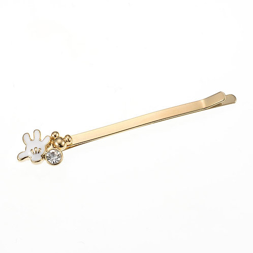 Hair Pin Collection -  Mickey Classic Diamond Hair Pin