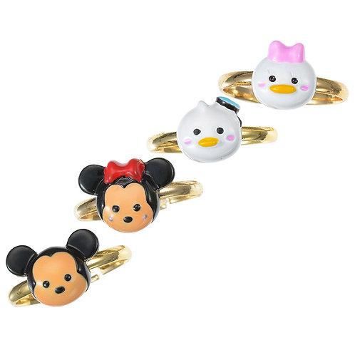 Jewel Collection - Mickey & Friend Tsum Tsum 4 Pc Ring Set