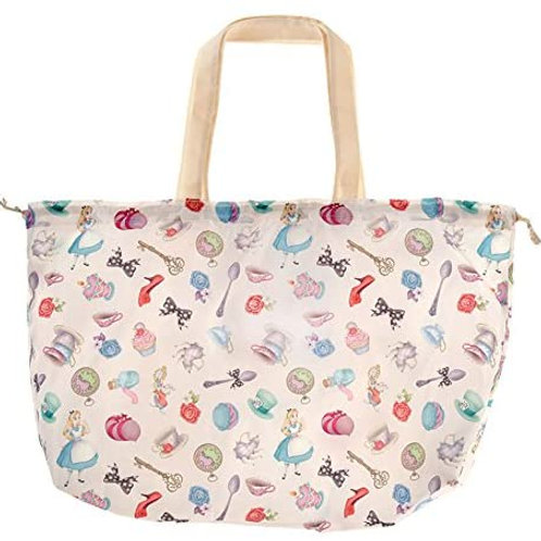 Eco Foldable Tote Bag Collection : Alice in Wonderland Tote Bag