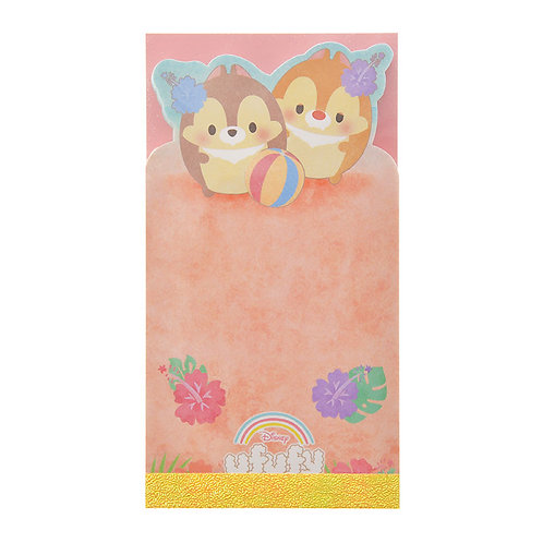 Memo Collection -Chip And Dale Ufufy Summer Folding Card Memo